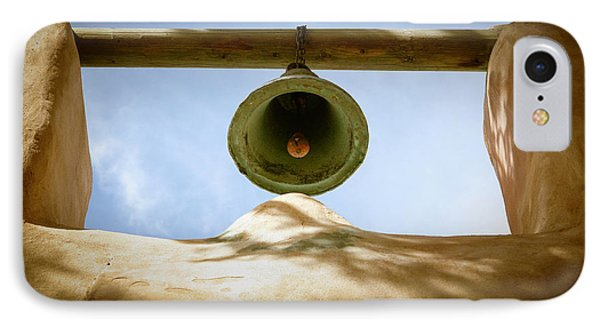 IPhone Case featuring the photograph Green Church Bell by Marilyn Hunt