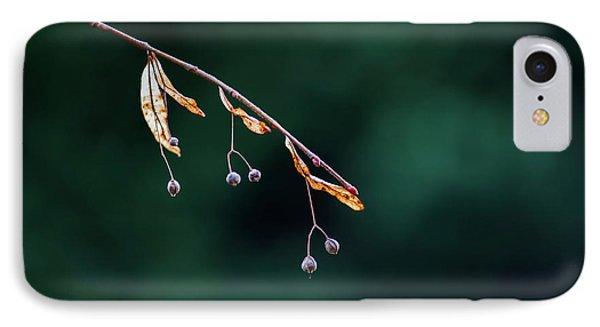 Green Contrast Phone Case by Vincent Pelletier