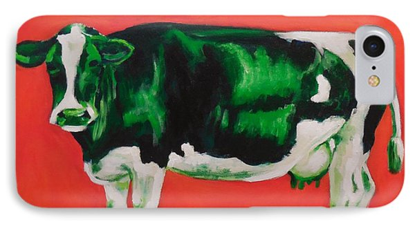 Green Cow IPhone Case