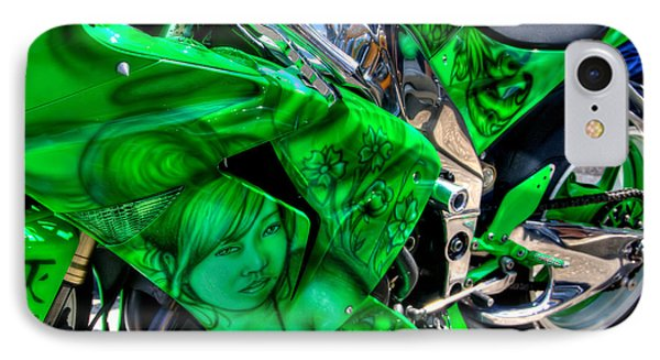 IPhone Case featuring the photograph Green Dream by Adrian LaRoque