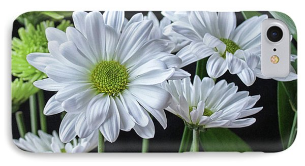IPhone Case featuring the photograph Green Eyed Daisy by Bonnie Willis