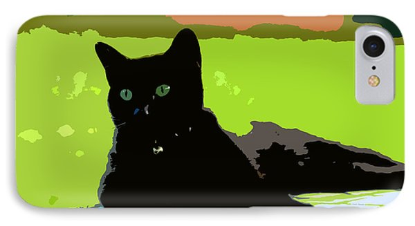Green Eyes IPhone Case by David Lee Thompson