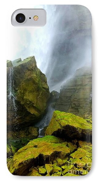 IPhone Case featuring the photograph Green Falls by Raymond Earley