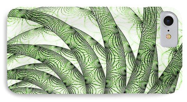 Green Fern IPhone Case by Anastasiya Malakhova