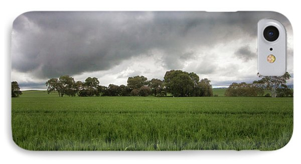 IPhone Case featuring the photograph Green Fields 5 by Douglas Barnard