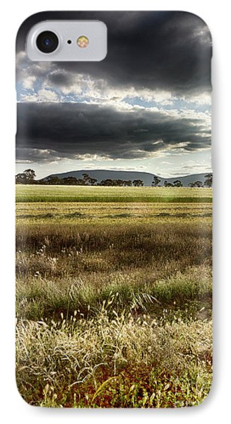 IPhone Case featuring the photograph Green Fields 6 by Douglas Barnard