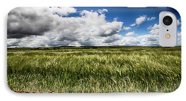 IPhone Case featuring the photograph Green Fields by Douglas Barnard