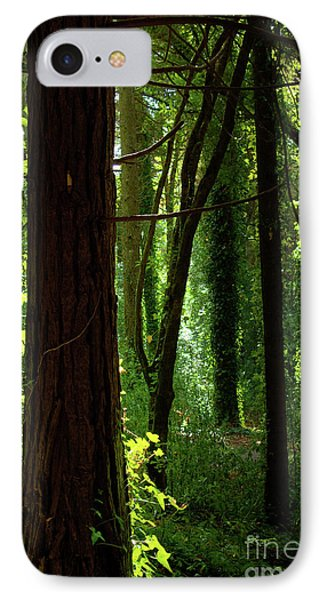 Green Forest Phone Case by Carlos Caetano