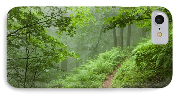 Green Forest Phone Case by Evgeni Dinev