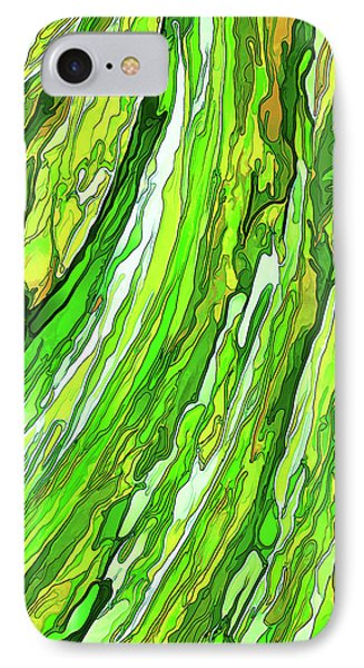 Green Garden IPhone Case by ABeautifulSky Photography
