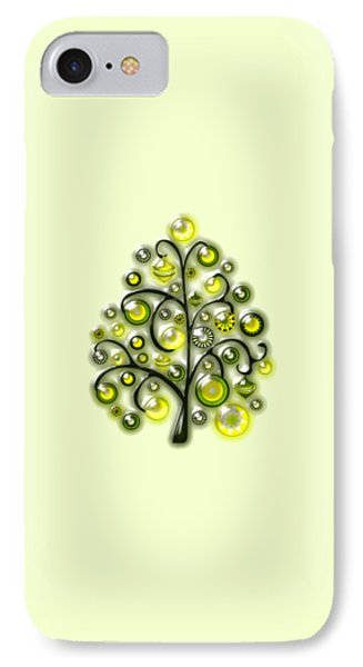 Green Glass Ornaments IPhone Case
