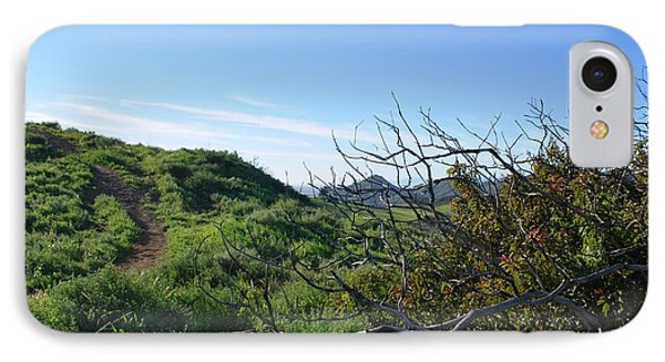 IPhone Case featuring the photograph Green Hills And Bushes Landscape by Matt Harang