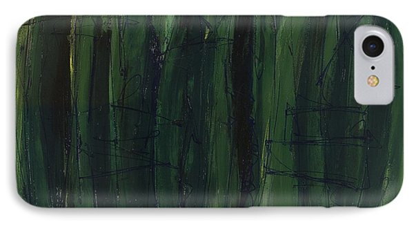 Green Is Good IPhone Case by Lynne Taetzsch