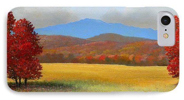 Green Mountain Landscape Phone Case by Frank Wilson