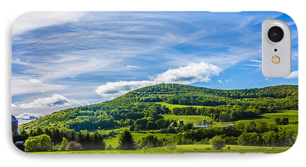 IPhone Case featuring the photograph Green Mountains And Blue Skies Of The Catskills by Paula Porterfield-Izzo