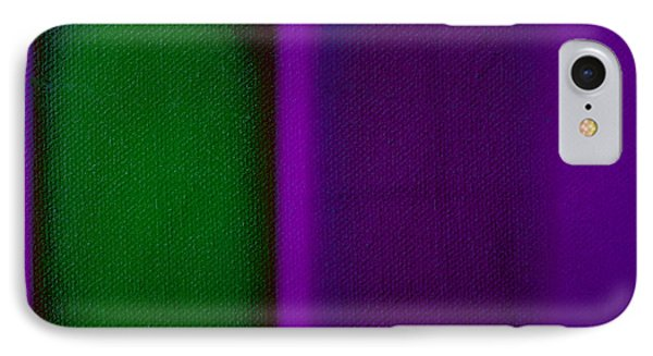 Green On Magenta IPhone Case