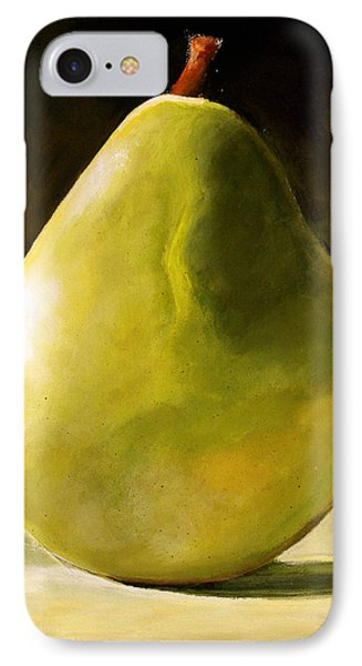 Green Pear IPhone 7 Case by Toni Grote