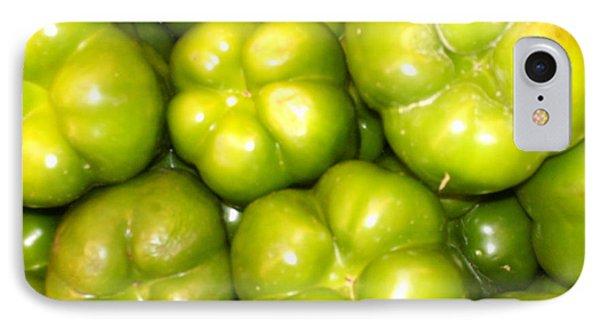 Green Pepper IPhone Case