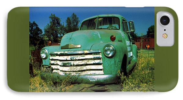 Green Pickup 1959 - American Car Photo IPhone Case by Art America Gallery Peter Potter