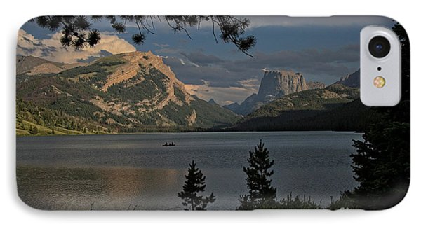 IPhone Case featuring the photograph Green River Lake by Ron Chilston
