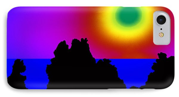 Green Sun Above El Remo IPhone Case by Jean-luc Bohin