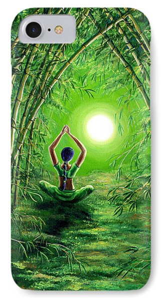 Green Tara In The Hall Of Bamboo IPhone Case