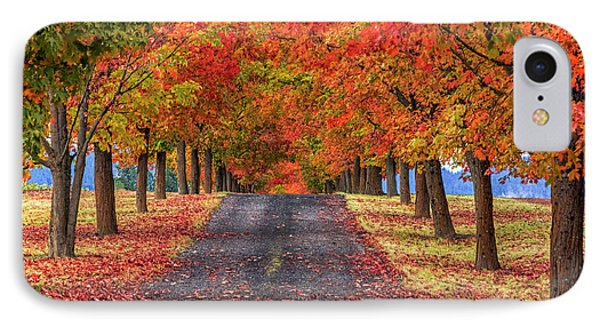 Greenbluff Autumn IPhone Case by Mark Kiver