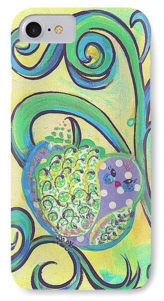 Greenbriar Birdy IPhone Case by Shelley Overton