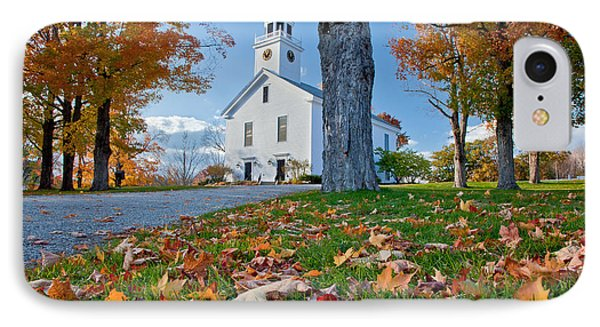 Greenfield Church Phone Case by Susan Cole Kelly