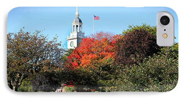 Greenfield Village And Henry Ford Museum In The Fall In Dearborn Michigan IPhone Case by Design Turnpike