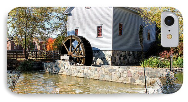 Greenfield Village Stoney Creek Sawmill In Dearborn Michigan IPhone Case by Design Turnpike