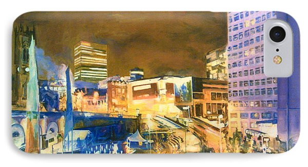 Greengate, Salford, Manchester At Night IPhone Case