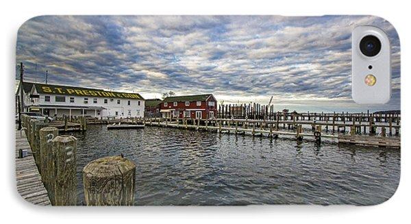 Greenport Dock IPhone Case