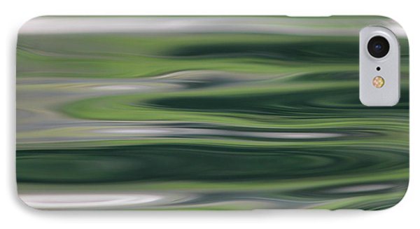 Greens Of Spring IPhone Case by Cathie Douglas