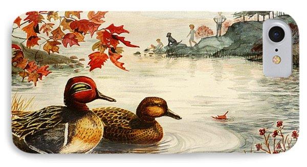 Greenwinged Teal Ducks IPhone Case