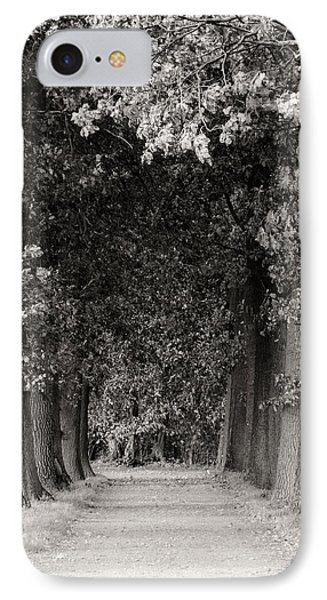 Greeted By Trees IPhone Case by Wim Lanclus