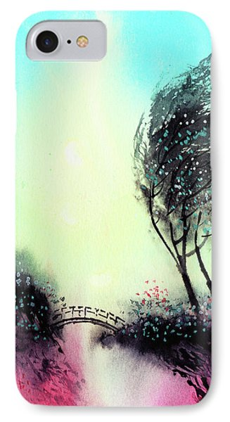 IPhone Case featuring the painting Greeting 1 by Anil Nene