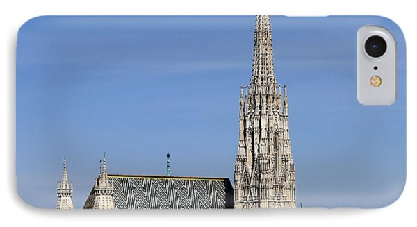 Greetings From Vienna IPhone Case by Evelyn Tambour