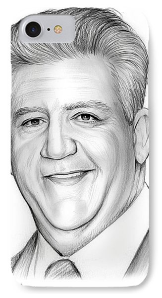 Gregory Jbara IPhone Case by Greg Joens