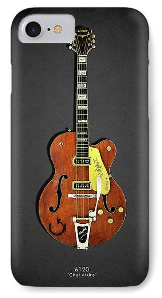 Guitar iPhone 7 Case - Gretsch 6120 1956 by Mark Rogan