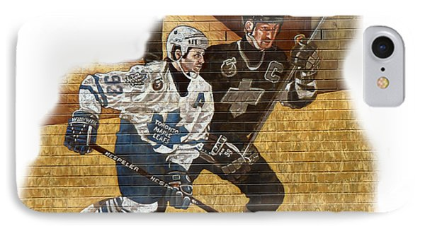 Gretzky And Gilmour Phone Case by Andrew Fare