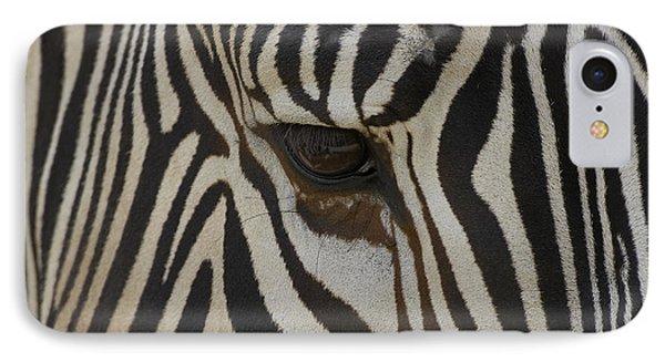 Grevys Zebra Equus Grevyi Close Phone Case by Zssd