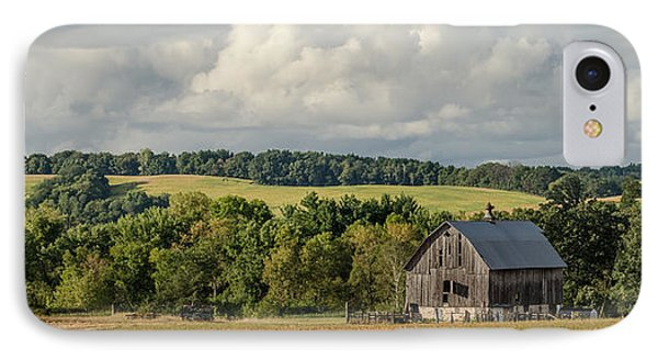 IPhone Case featuring the photograph Grey Barn by Dan Traun
