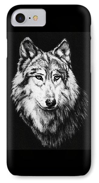 Grey Wolf Phone Case by Melodye Whitaker