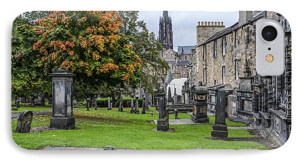 Greyfriars Kirkyard 1562  IPhone Case by Amy Fearn