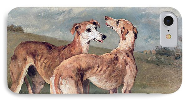 Greyhounds IPhone Case by John Emms