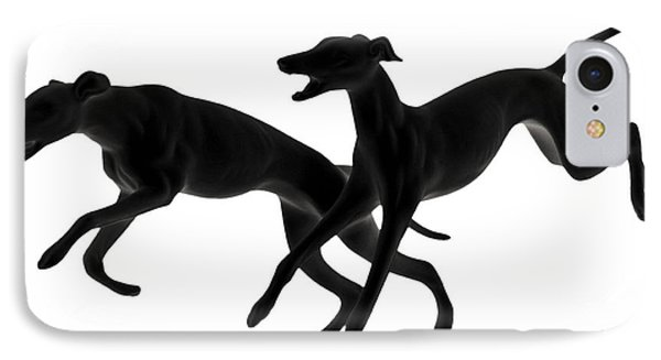 Greyhounds Travelling At 45 Mph IPhone Case