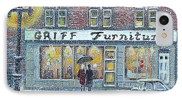 Griff Furniture IPhone Case by Rita Brown