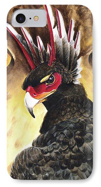 Griffin Sight Phone Case by Melissa A Benson
