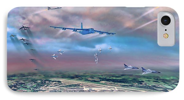 Griffiss Afb Rome Ny IPhone Case by Dave Luebbert